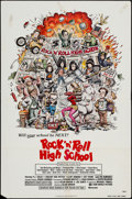 "Movie Posters:Rock and Roll, Rock 'n' Roll High School (New World, 1979). One Sheet (27"" X 41"").Rock and Roll.. ..."
