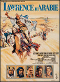 "Movie Posters:Academy Award Winners, Lawrence of Arabia (Columbia, 1962). French Petite (15"" X 20.75"").Academy Award Winners.. ..."