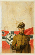 Original Comic Art:Covers, Peter Caras Heinrich Luitpold Himmler Painting Original Art(undated)....