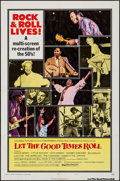 "Movie Posters:Rock and Roll, Let the Good Times Roll (Columbia, 1973). One Sheet (27"" X 41"") Style B. Rock and Roll.. ..."