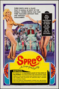 "Movie Posters:Sexploitation, Spree (United Producers, 1967). One Sheet (27"" X 41"") Style C.Sexploitation.. ..."