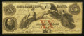 Obsoletes By State:Massachusetts, Worcester, MA- The Mechanics Bank Counterfeit $20 Aug. 1, 1861 C12a. ...