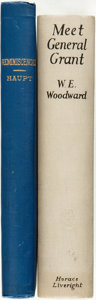 Books:Biography & Memoir, [Military Biography.] W. E. Woodward. Meet General Grant. New York: Horace Liveright, 1928. [with:] Herman... (Total: 2 Items)
