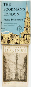 Books:Travels & Voyages, [London.] Pair of Books about London. Various publishers and dates.... (Total: 2 Items)