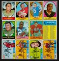 Football Cards:Lots, 1967 - 1968 Topps & Philadelphia Football and Hockey Collection (275+). ...