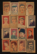 Baseball Cards:Lots, 1926 and 1927 W512/W513 Anonymous Baseball, Boxers and ActorsCollection (60) With Babe Ruth! ...