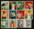 "Olympic Cards:General, 1910's T51 ""College Series"" and T218 ""Champion Athletes and PrizeFighters"" Collection With Three Rare T218 ""Tolstoi"" Backs! ..."
