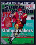 """Football Collectibles:Photos, Reggie Bush Signed Oversized """"Sports Illustrated"""" Photograph...."""
