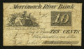 Obsoletes By State:New Hampshire, Manchester, NH- O. Barton & Co. at the Merrimack River Bank 10¢ Nov. 8, 1862 . ...