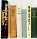 Books:Americana & American History, [Cattle Ranching]. Group of Seven Books on Cattle Ranching. Variouspublishers and dates. Includes five first editions. ... (Total: 7Items)
