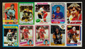 Hockey Cards:Lots, 1970's - 1980's Hockey HoFers Card Collection (30) With Orr, Howeand Two Lemieux Rookies! ...