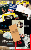 Books:Periodicals, [NASA.] Small Archive of Materials Related to NASA and the Apollo8, 9, and 10 Moon Missions. Various publishers and dates. ...