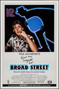 """Movie Posters:Rock and Roll, Give My Regards to Broad Street (20th Century Fox, 1984). One Sheet(27"""" X 41"""") Styles A & B. Rock and Roll.. ... (Total: 2 Items)"""