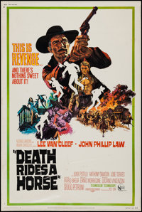 """Death Rides a Horse & Others Lot (United Artists, 1968). Posters (4) (40"""" X 60""""). Western. ... (Total:..."""
