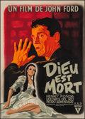 "Movie Posters:Drama, The Fugitive (RKO, 1948). French Grande (45"" X 63""). Drama.. ..."