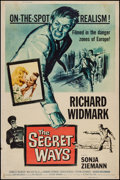 """Movie Posters:Adventure, The Secret Ways & Others Lot (Universal, 1961). Posters (4)(40"""" X 60""""). Adventure.. ... (Total: 4 Items)"""