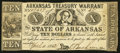 Obsoletes By State:Arkansas, (Little Rock), AR- The State of Arkansas $10 Apr. 11, 1862 Cr. 54. ...