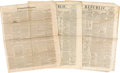 Miscellaneous:Newspaper, [Texas News]. Three Newspapers.... (Total: 3 Items)