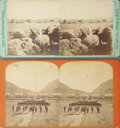 Photography:Stereo Cards, TWO 1870s SAVAGE AND OTTINGER STEREOVIEWS. Two stereo images by Salt Lake City photographers C.R. Savage and George Ottinger... (Total: 1 Item)