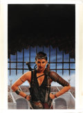 "Original Comic Art:Covers, Keith Birdsong - ""Larissa"" Paperback Cover Painting Original Art(ROC, 1993)...."