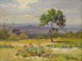 Texas:Early Texas Art - Impressionists, ROBERT WOOD (1889-1979). Untitled Near Boerne, Texas, early1930s. Oil on canvas. 12 x 16 inches (30.5 x 40.6 cm). Signe...