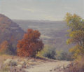 Texas:Early Texas Art - Impressionists, ROBERT WOOD (1889-1979). Bandera Hill Country. Oil oncanvas. 24 x 28 inches (61.0 x 71.1 cm). Signed lower right. ...