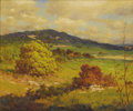 Texas:Early Texas Art - Impressionists, ROBERT WOOD (G. DAY) (1889-1979). Untitled Hill CountryAutumn, early to mid 1930s. Oil on canvas. 20 x 24 inches(50.8 ...
