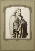 American Indian Art:Photography, SPOTTED TAIL (Sinte Gleska), BRULE LAKOTA HEAD CHIEF. . c. 1880....