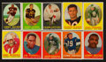 Football Cards:Sets, 1958 Topps Football Near Set (127/132) With Brown Rookie! ...
