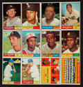 Baseball Cards:Lots, 1961 Topps Baseball Collection (478) With Stars and HoFers. ...