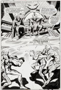 Original Comic Art:Splash Pages, Gene Colan and Mike Esposito (as Mickey Demeo) MarvelSuper-Heroes #18 Guardians of the Galaxy Page 12 First Yondu...