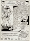 Original Comic Art:Panel Pages, Carmine Infantino and Dennis Jensen The Flash #318 Page 1Original Art (DC, 1983)....