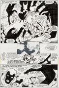 "Original Comic Art:Panel Pages, George Perez and Dick Giordano Crisis on Infinite Earths #1""The Summoning"" Page 28 Original Art (DC, 1985)...."