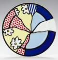 Post-War & Contemporary:Contemporary, ROY LICHTENSTEIN (American, 1923-1997). Künstlerteller,1990, Rosenthal. Glazed ceramic. 12 inches diameter (30.5 cm). E...