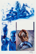 Original Comic Art:Panel Pages, Gabriele Dell'Otto Secret War #5 Painted Page Original Art(Marvel, 2005)....