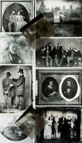 Books:Prints & Leaves, [Daguerreotypes]. Small Archive of Material Relating toDaguerreotypes. May include photographic reproductions, negatives,s...