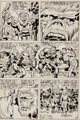 "Jack Kirby and D. Bruce Berry Kamandi, The Last Boy On Earth #29 ""Mighty One!"" Page 7 Original Art (DC, 1975)..."