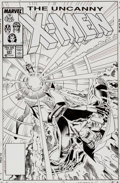 Original Comic Art:Covers, Marc Silvestri and Dan Green Uncanny X-Men #221 Cover Original Art (Marvel, 1987)....