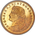 Proof Four Dollar Gold Pieces, 1880 $4 Flowing Hair, Judd-1657, Pollock-1857, High R.6, PR66 PCGS....
