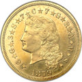 Proof Four Dollar Gold Pieces, 1879 $4 Flowing Hair, Judd-1635, Pollock-1833, R.3, PR62 NGC....