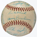 Baseball Collectibles:Balls, 1963 Baltimore Orioles Team Signed Baseball (26 Signatures)....