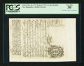 Colonial Notes:New Hampshire, Cohen Reprint New Hampshire May 20, 1717 Redated 1729 1s PCGS Very Fine 30.. ...