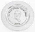 Football Collectibles:Others, 1974 Vince Lombardi Award Banquet Patron's Plate....