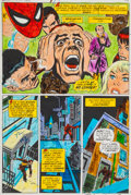 Original Comic Art:Miscellaneous, Amazing Spider-Man #121 Page 10 Dave Hunt Color GuideProduction Art (Marvel, 1973)....