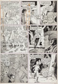 """Original Comic Art:Panel Pages, Barry Smith Vampirella #9 Page 3 """"The Boy Who Loved Trees""""Original Art (Warren, 1971)...."""