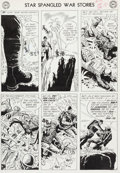 """Original Comic Art:Panel Pages, Ross Andru and Mike Esposito Star Spangled War Stories #103 """"Doom at Dinosaur Island!"""" Page 8 Original Art (DC, 19..."""