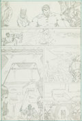 Original Comic Art:Miscellaneous, Keith Giffen Defenders #53 Unpublished Preliminary PenciledOriginal Art Group of 2 (Marvel, 1977).... (Total: 2 Original Art)