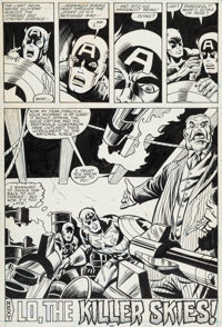 Sal Buscema and Don Perlin Captain America #234 Page 30 Original Art (Marvel, 1979)