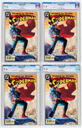 Modern Age (1980-Present):Superhero, Superman #204 CGC-Graded Group (DC, 2004) White pages.... (Total: 4Comic Books)