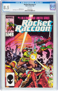 Modern Age (1980-Present):Humor, Rocket Raccoon #1 (Marvel, 1985) CGC VF+ 8.5 White pages....